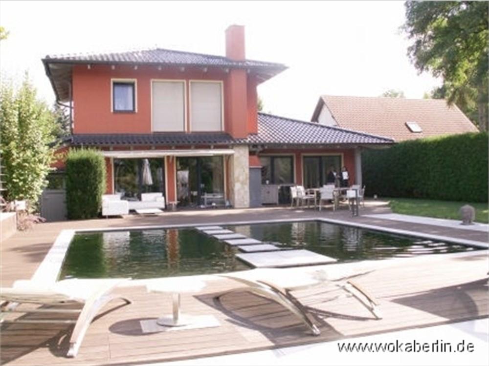 durchg ngig luxuri s stilvolle 7 zimmer villa in berlin teltow. Black Bedroom Furniture Sets. Home Design Ideas