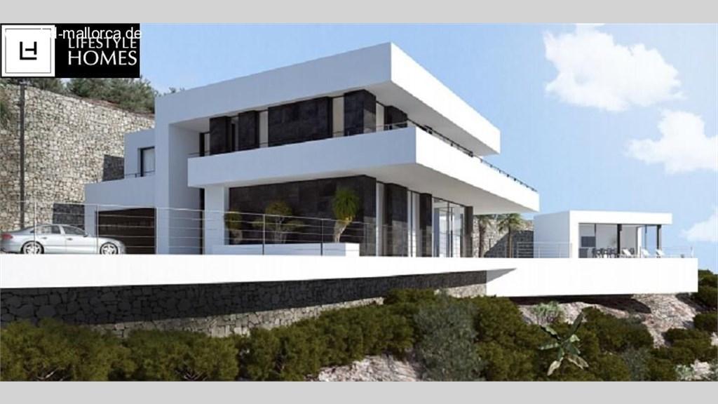 hd wohlgeformte villa im bauhausstil mit 3 sz ohne grundst ck. Black Bedroom Furniture Sets. Home Design Ideas